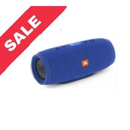 """Портативна Bluetooth колонка """"JBL CHARGE 3"""" Waterproof Blue, фото 2"""