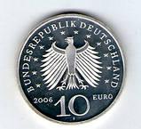 Германия 10 евро 2006 «Карл Фридрих Шинкель» Серебро UNC с29, фото 2