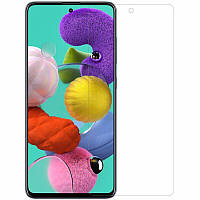 Защитная пленка для Samsung Galaxy A51 гидрогелевая на весь экран пленка на телефон самсунг а51 прозрачная PRT