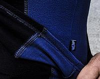 Термобелье (комплект) микрофлис ARMOLINE (BLACK/BLUE), фото 5