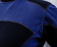Термобелье (комплект) микрофлис ARMOLINE (BLACK/BLUE), фото 6