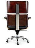 Офисное Кресло еймс лаунж релакс на колесах Крісло Eames Lounge Chair, фото 5