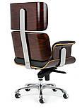 Офисное Кресло еймс лаунж релакс на колесах Крісло Eames Lounge Chair, фото 6