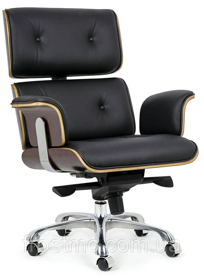 Офисное Кресло еймс лаунж релакс на колесах Крісло Eames Lounge Chair