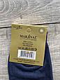 Чоловічі носки шкарпетки стрейчеві Marjinal високі котон антибактеріальний продукт 40-45 6 шт в уп сині, фото 2