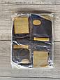 Чоловічі носки шкарпетки стрейчеві Marjinal високі котон антибактеріальний продукт 40-45 6 шт в уп сині, фото 3