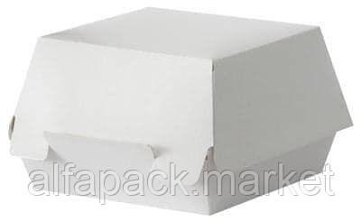 Картонная упаковка для бургера 140*140*70 (100 шт в упаковке) 010400009