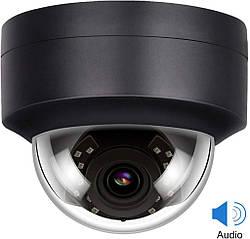 IP-камера Anpviz 5MP PoE черная Black