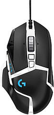 Ігрова комп'ютерна миша Logitech G502 Hero High Performance чорна Black