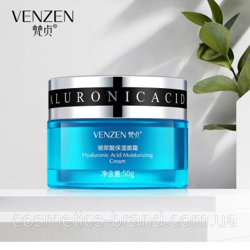Крем для лица с гиалуроновой кислотой Venzen HA Hyaluronic Acid Cream, 50 г