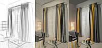 Дизайн і пошиття штор від магазин штор Tanova