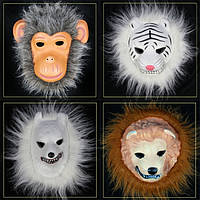 Маски африканских животных