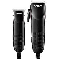 Машинка для Стрижки Волос 2 в 1 VGR V-023, фото 1