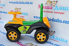 Каталка толокар Автошка, музыкальный руль, ПДД, фото 2