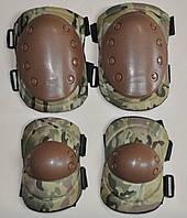 Наколінники тактичні, налокотники тактичні. набір BC-4039