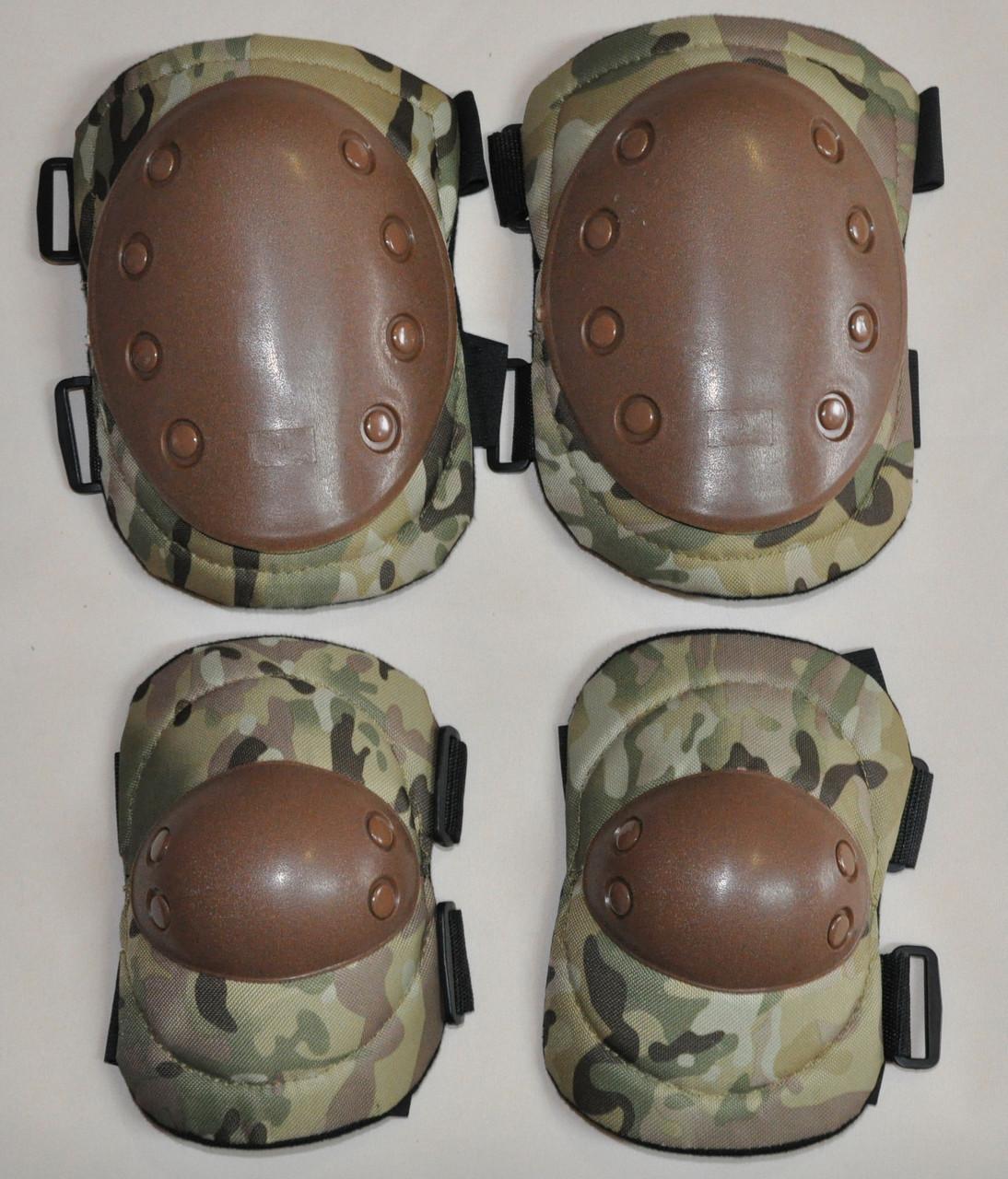 Наколінники тактичні, налокотники тактичні. набір BC-4039 - Спорттовари №1 в Хмельницком