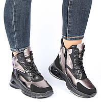 Женские зимние ботинки на платформе Meglias 195561, Черный, 37, 2999860346718