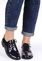 Женские туфли на низком ходу Geronea 19931, Синий, 38, 2999860278262
