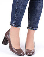 Женские туфли на каблуке Geronea 19936, Коричневый, 38, 2999860278514