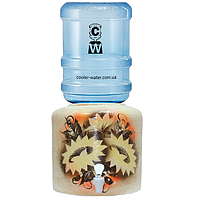 Керамический диспенсер для воды «Подсолнух», фото 1