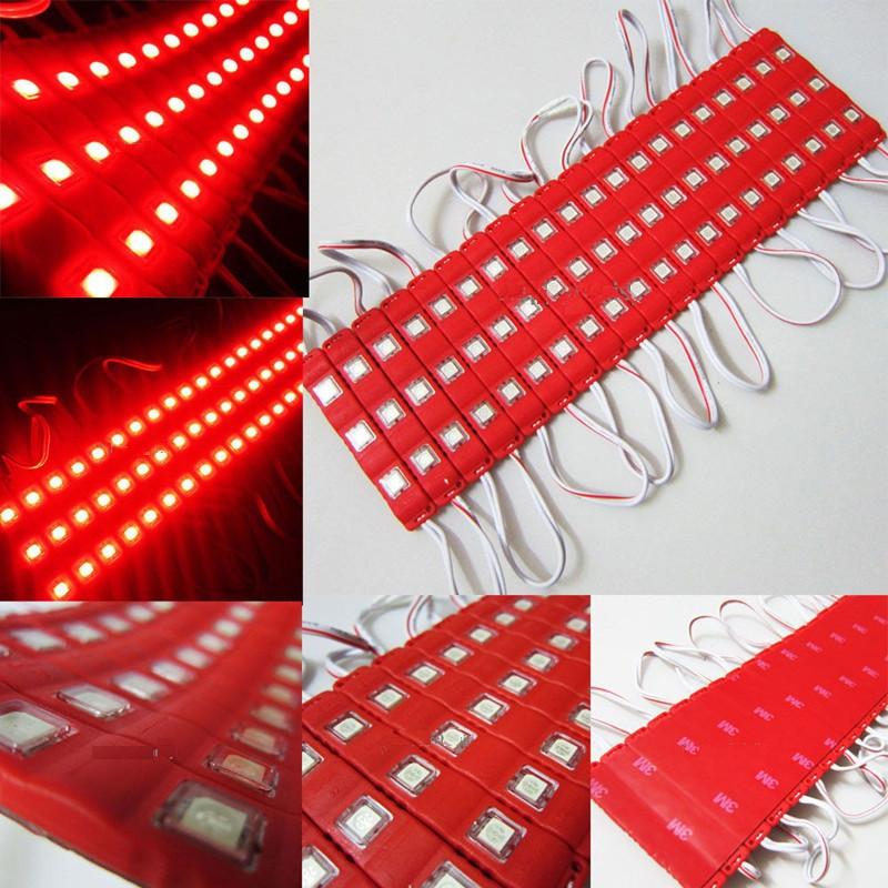 Светодиодный модуль smd 5050 красный 3 диода (color)