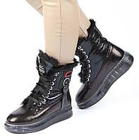 Женские зимние ботинки на платформе Tucino 195586, Черный, 37, 2999860349269