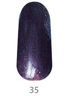 Гель-лак My Nail 9 ml №35 (темно-сливовый с микроблеском)