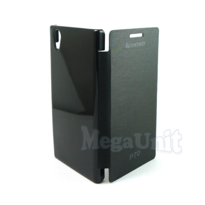 Чехол-книжка Flip Cover для Lenovo P70 Черный