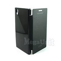 Чехол-книжка Flip Cover для Lenovo P70 Черный, фото 1
