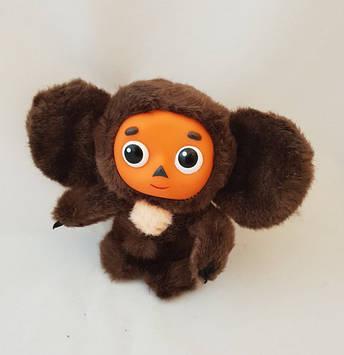 М'яка, якісна, музична іграшка, чебурашка, розмовляє фразами з мультфільму 18 см