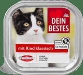 Мясное рагу для кошек с говядиной Dein Bestes mit Rind Klassisch, 100 гр.