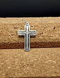 Серебряный крест Арт. Кр 218, фото 4
