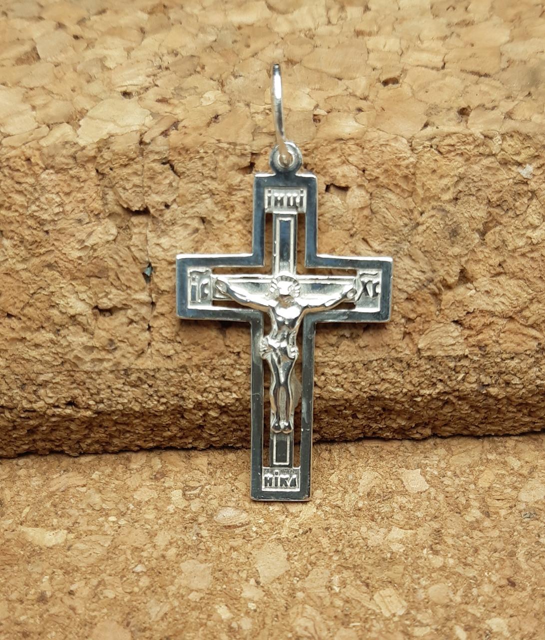 Серебряный крест Арт. Кр 218