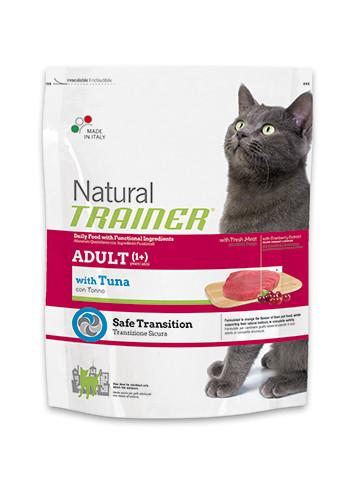 Trainer (с тунцом) - сбалансированный корм для взрослых кошек в возрасте от 1 года 1,5кг