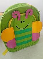 Маленький детский рюкзачок для малышей Baby Tilly животные для детского сада, рюкзак бабочка
