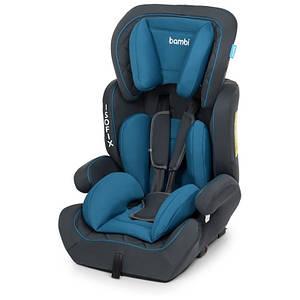 Автомобільне крісло Isofix 4250 дитяче, автокрісло, ізофікс, від 9 до 36 кг, від 1 року до 12 років Синій