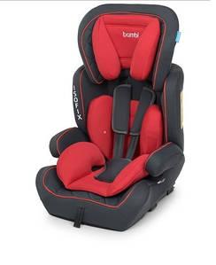 Автомобільне крісло Isofix 4250 дитяче, автокрісло, ізофікс, від 9 до 36 кг, від 1 року до 12 років Червоний