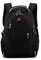 Рюкзак спортивный SWR 558815-3 15л 38x24x15 черный