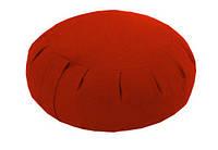 Подушка для медитации красный