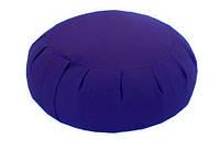 Подушка для медитации синий