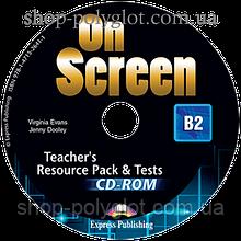 Диск On screen B2 Teacher's Resource Pack CD-ROM