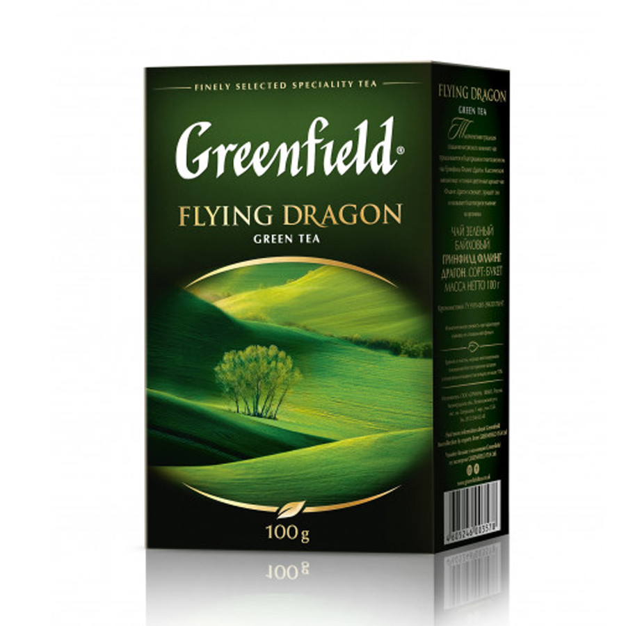 Чай листовой Greenfield Flying Dragon 100г