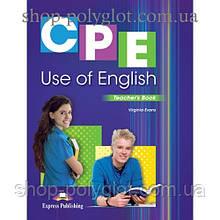 Книга для учителя CPE Use of English (Revised Edition) Teacher's Book
