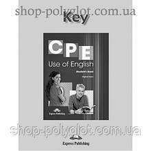 Ответы CPE Use of English (Revised Edition) Key