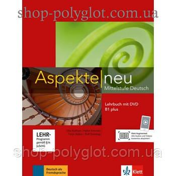 Учебник Aspekte 1 Neu B1+ Lehrbuch mit DVD