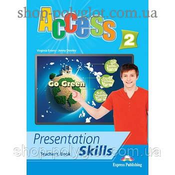 Книга для вчителя Access 2 Presentation Skills teacher's Book