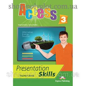 Книга для вчителя Access 3 Presentation Skills teacher's Book