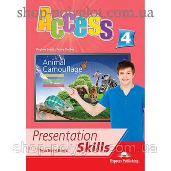 Книга для вчителя Access 4 Presentation Skills teacher's Book