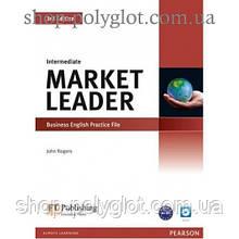 Рабочая тетрадь Market Leader (3rd Edition) Intermediate Practice File with Audio CD Pack