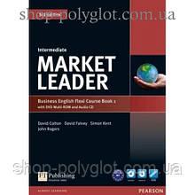 Учебник английского языка Market Leader (3rd Edition) Intermediate PART 1 (Coursebook + Practice File + DVD-ROM + Audio CD)